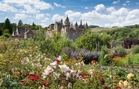 Abbotsford House and Gardens