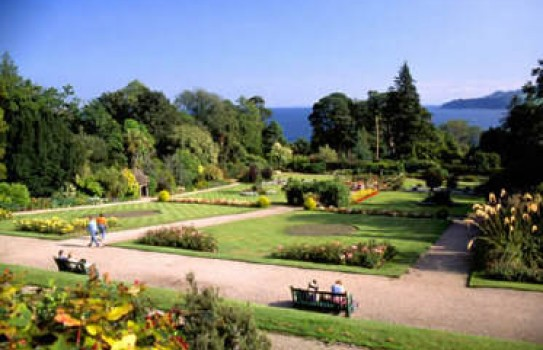 Gardens in Ayrshire - Brodick Castle