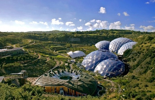 The Eden Project in Cornwall