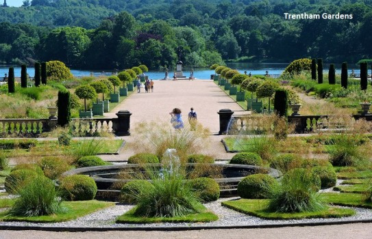 Gardens in Staffordshire - Trentham