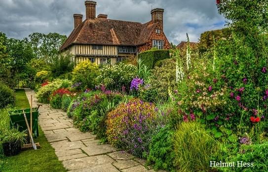 Great Dixter Gardens in Sussex