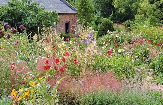 Kelmarsh Hall Garden