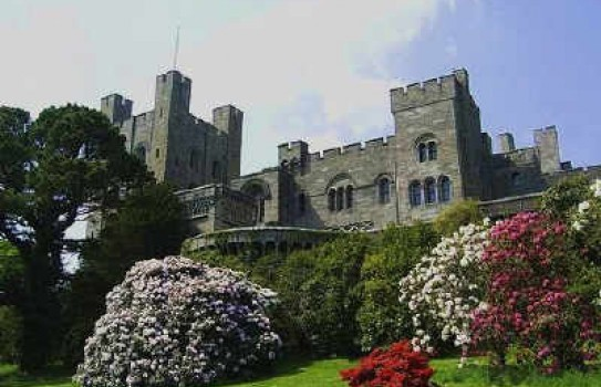 Penrhyn Castle Gardens, a National Trust property in Wales