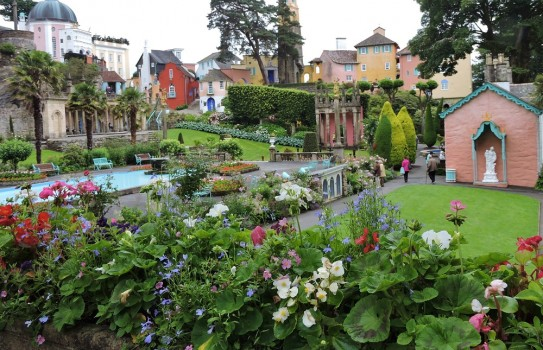 Portmeirion and Gardens