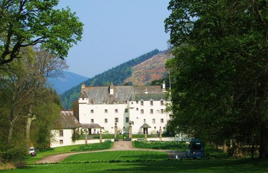 Traquair House and Woodland Gardens