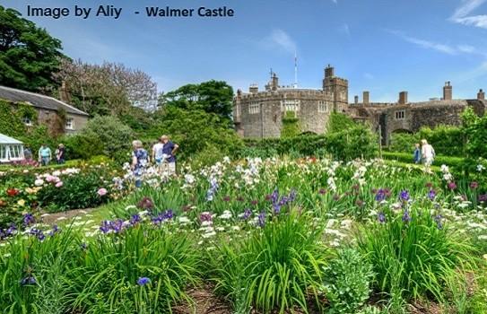 Walmer Castle Garden